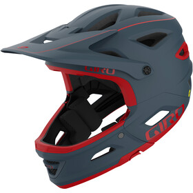 Giro Switchblade MIPS Helm matte portaro grey/red